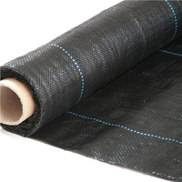 Landscape Weed Control Fabric 1x15m Roll 80g/M2