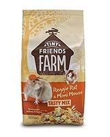 TFF Reggie Rat & Mimi Mouse Food 850g x 6