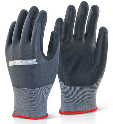 Nitrile Flex Black size 8