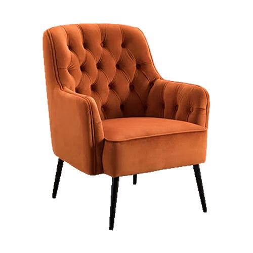 Miley Harvest Pumpkin Chair