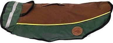 "Country Pet Dog Coat - Harness Waterproof Green 52cm/20"" x 1"