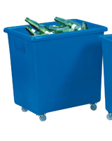 "Bottle Trolley Blue 26 x 18"" x 25"""