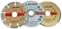 Amtech 3Pc Diamond & Cut Off Blade Set