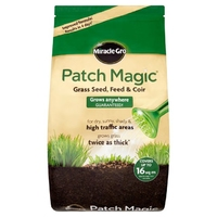MIRACLE-GRO PATCH MAGIC GRASS SEED, FEED & COIR BAG 3.6 KG