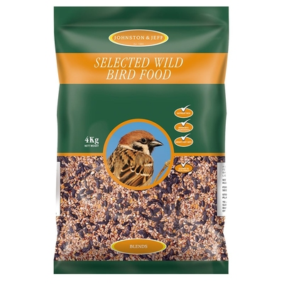 Johnston & Jeff Wild Bird Seed 4kg x 1