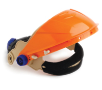 Pro Ratchet Browguard Only Orange