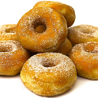 Sugared Ring Donuts 48x70gr