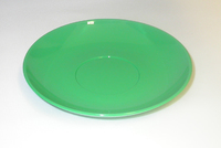 Tea Plate Polycarbonate Green