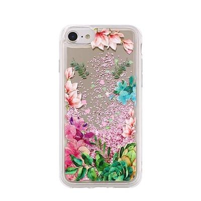 FC1002 Fashion Case iPhone 7/8 Glitter Flower