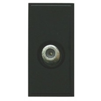 Triax Single TV F  Insert - Black (304255)