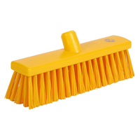 Soft Bristle Broom 300 mm, Yellow
