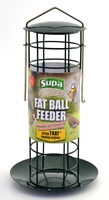 Supa Fat Ball Feeder with Tray to fit 4 Ball Smalls x 1