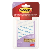 Command Party Clear Mounting Strips 17807CLR-ES