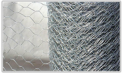 1200mm X 50mm X 10Mtr Hexagonal Wire Mesh Roll
