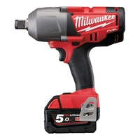 MILWAUKEE M18CHIWF34-502C M18 Fuel Friction Ring Impact Wrench 3/4