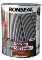 Ronseal Decking Rescue Paint 5lt - Chestnut