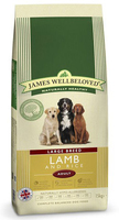 James Wellbeloved Adult Dog Large Breed - Lamb & Rice 15kg