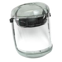 Transparent Framed Visor Carrier W/ Chinguard