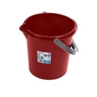Casa 5L Bucket Chilli Red