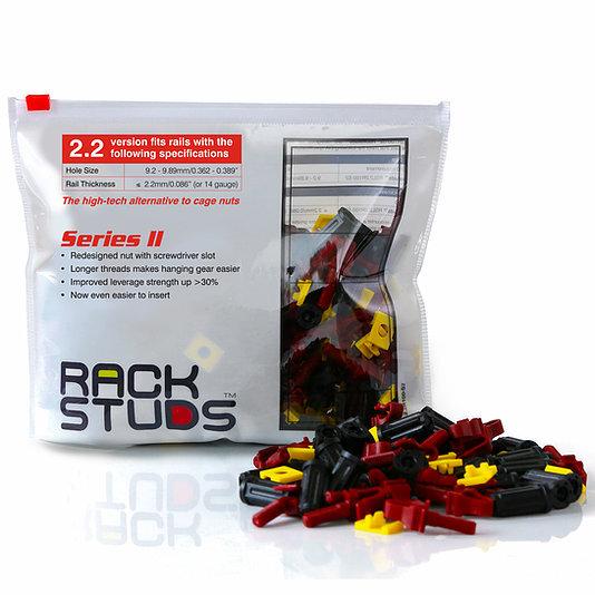 Rackstuds Red 100 Pack Series 2 2.2mm