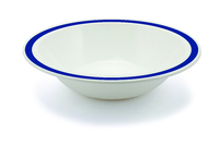 New Duo Royal Blue - 17.3cm Rimmed Bowl