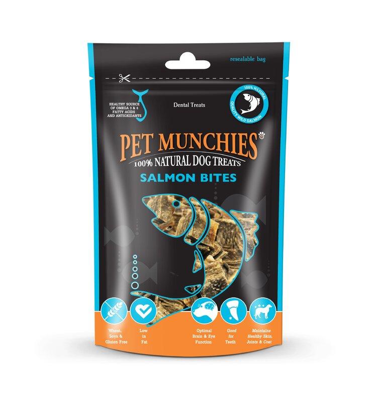 Pet Munchies Salmon Bites 8 x 90g