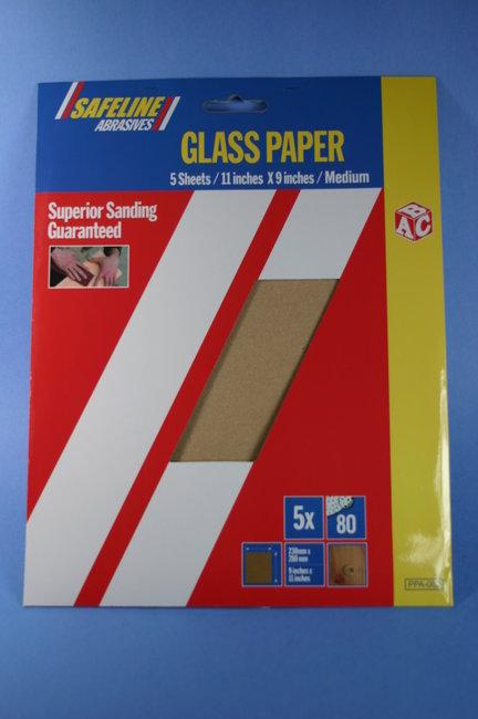 Sanding Tools Sanding Paper Sandpaper Sheets Pack of 5 Medium Wood ...