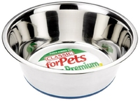 """Classic Stainless Steel Non-Slip 6.75"""" Bowl x 1"""