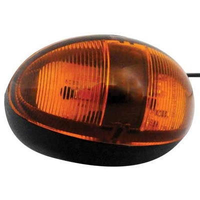 Amber Oval LED Side Marker