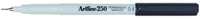 Artline Marker Pen 250 Permanentr - Black