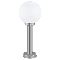 EGLO Nisia Stainless Steel with Globe, 500mm Bollard