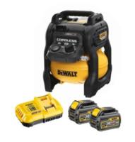 Dewalt DCC1054T2 54V XR Flexvolt Compressor C/W 2 x 6.0ah Flexvolt Batteries & Fast Charger (DeWALT Special Discount Price)