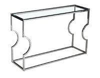 console table silver