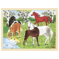 Pony Puzzle - wooden jigsaw