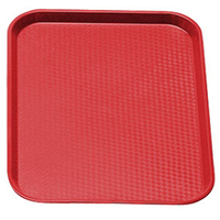 Fast Food Tray Red 460mm x 355mm