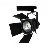 LED Shutter Tracklight Black