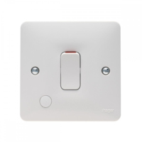 SOLLYSTA DOUBLE POLE SWITCH C/W OUTLET 20A