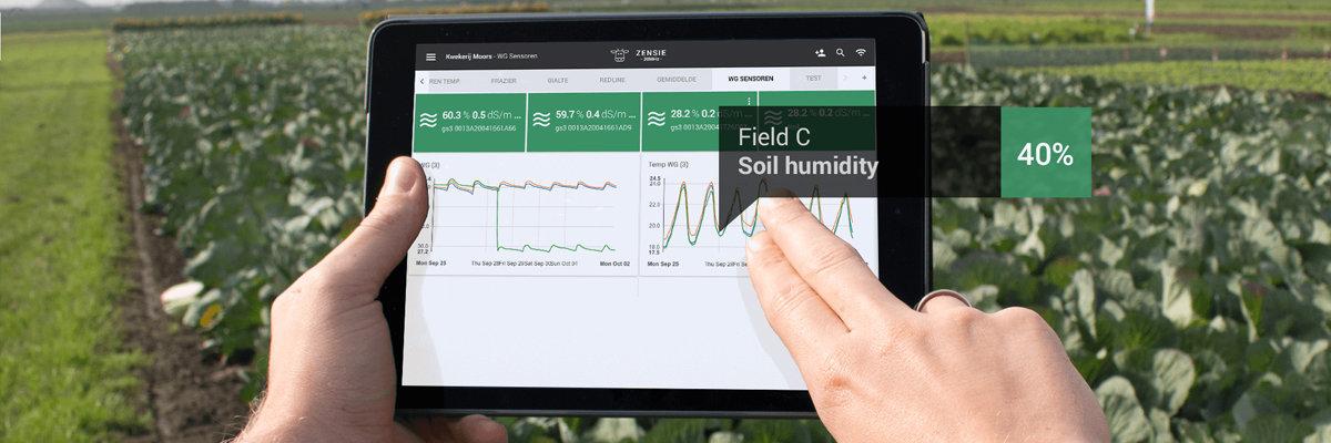 Smart sensing for horticulture