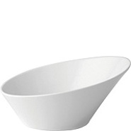Anton Black Fine China Bevel Bowl 160cm Carton of 6
