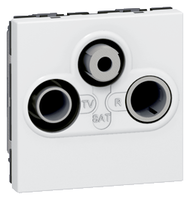 Arteor TV- R- SAT - White    LV0501.0904