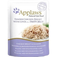 Applaws Cat Pouch Chicken & Liver in Jelly 70g x 16