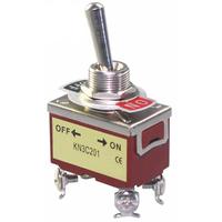 Switch| Toggle Switch 2 Pins SPST ON-OFF 20A 125V, 15A 250V