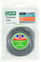 ALM Low Noise Trimmer Line (25m x 1.5mm) Twisted Line - SL009