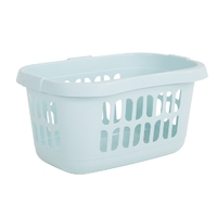 Casa Hipster Laundry Basket Duck Egg Blue (WT897/1)