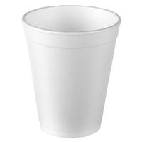 10oz Disposable Foam Cups, 1000/case