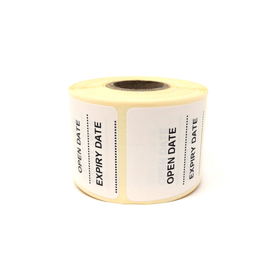 Purfect Prescription Bag Label (500) - Open Date / Expiry Date
