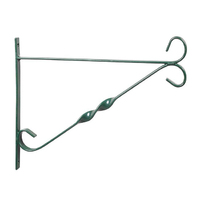 12'' Hanging Basket Brackets Green (HBB12G)