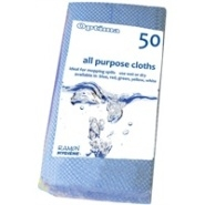 All Purpose Cloth Blue 60cm x 30cm Pack 50