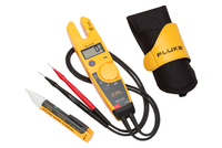 Fluke Electrical Tester, 1000 Count, Average, Auto Range, 3.5 Digit