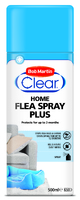 Bob Martin Clear Home Flea Spray Plus 500ml x 1
